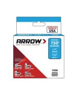 "Arrow T50 Staples 6mm 1/4"" (1250 Box) - 50424"