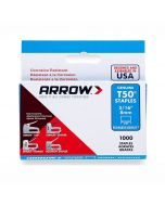 """Arrow T50 Stainless Staples 8mm 5/16"""""""