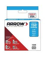 "Arrow T50 Stainless Staples 6mm 1/4"" (1000 Box) - 504SS1"