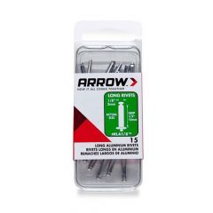 Arrow 1/8 Lng Alum Rivet (15 per box) - RLA18
