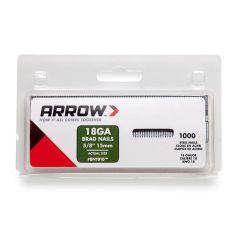 Arrow Brad Nails 15mm Brown