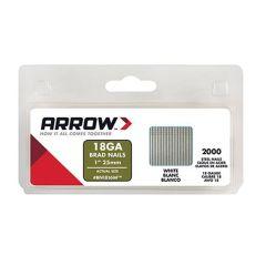 Arrow Brad Nails 25mm White