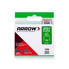 Arrow JT21 Staples 10mm 3/8""
