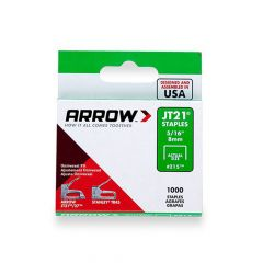 Arrow JT21 Staples 8mm 5/16""