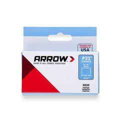 "Arrow P22 Staples 8mm 5/16"""
