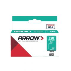 Arrow T20 Staples 12mm 1/2""
