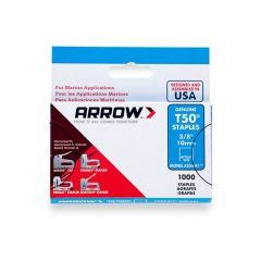 """Arrow T50 Monel Staples 10mm 3/8"""""""