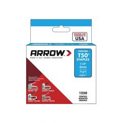 """Arrow T50 Stainless Staples 6mm 1/4"""""""