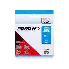 "Arrow T50 Staples 12mm 1/2"""