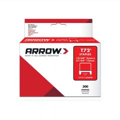 Arrow T72 Clear Insulated Staples 12 x 5mm