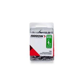 Arrow 1/8 Long Aluminium Rivets (100 per box) - RLA18IP