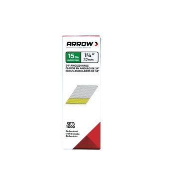 Arrow 32mm Angle Nails (1000 Box) - 15G32