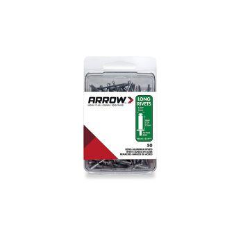 Arrow 5/32 Long Aluminum Rivet (50 per box) - RLA532IP