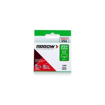 "Arrow JT21 Staples 8mm 5/16"" (1000 Box) - 215"