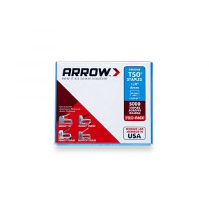 "Arrow T50 Staples Bulk 6mm 1/4"" (Approx 5000 Box) - 504IP"