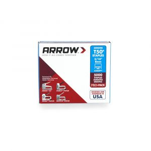"Arrow T50 Staples Bulk 8mm 5/16"" (Approx 5000 Box) - 505IP"