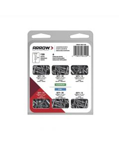 Arrow RK6120 Assorted Rivets (120 Pack) - RK6120