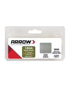 Arrow Brad Nails 25mm White