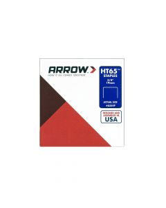 "Arrow HT65 3/4""-19mm Staples (Approx 2496 Box)"