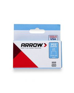 Arrow P22 Staples 6mm 1/4""