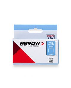 Arrow P22 Staples 8mm 5/16""