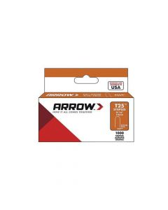 "Arrow T25 Round Crown Monel Staples 14mm 9/16"" (1000 Box)  - 259M"