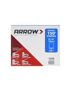Arrow T50 Monel Staples 14mm 9/16""