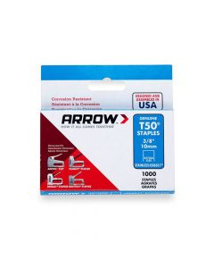 """Arrow T50 Stainless Staples 10mm 3/8"""""""