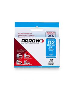 """Arrow T50 Stainless Staples 12mm 1/2"""""""