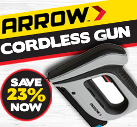 Arrow Electric Cordless Staple Gun