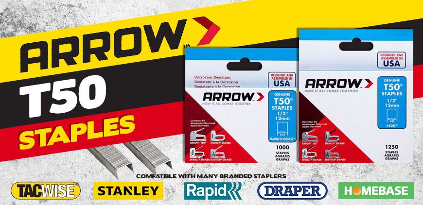 Arrow T50 Staples